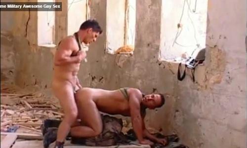 Militares gatos em sexo gay