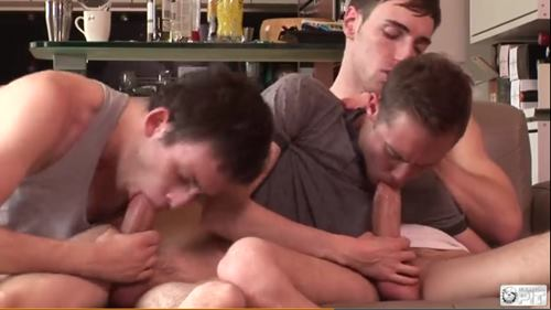 Orgia gay com amigos necudos