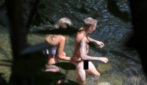 Fotos de Justin Bieber pelado nu mostrando a rola