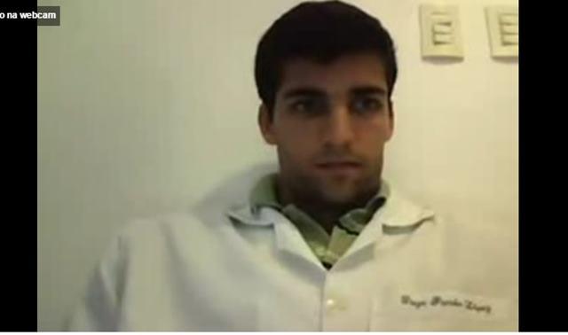 Diego Pombo punhetando em video de sexo gay