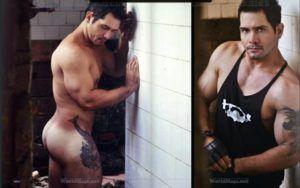 Ensaio do Ex-policial Evandro Silveira pelado para Men's Vips Magazine
