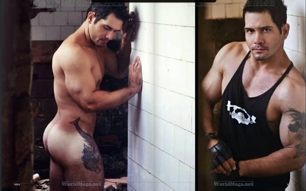 Men's Vips: Evandro Silveira pelado em fotos