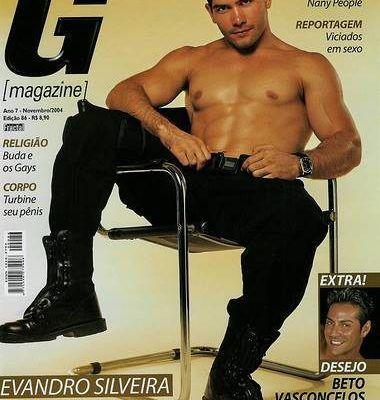 Evandro Silveira - Ex-policial pelado na G Magazine