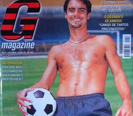 Bruno Carvalho - Ex-jogador pelado para G Magazine