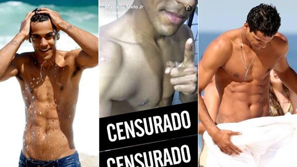 Marcello Melo Jr posta nudes no Snapchat