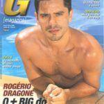 Rogério Dragone peladão na G Magazine