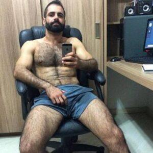 Fotos de homens peludos e gostoso pelados