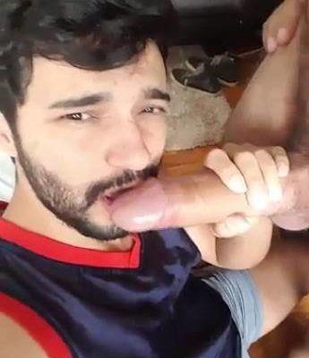 Marcos Goiano mamando pau pesado