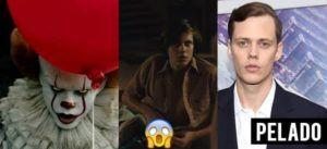 """Bill Skarsgård, ator de IT """"A Coisa"""" aparece em cenas de filme pelado e de pau duro"""