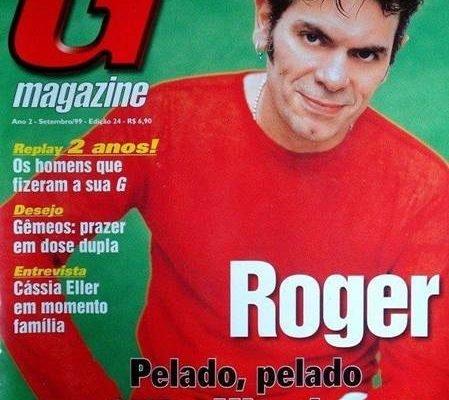 Cantor Roger pelado em fotos - G Magazine