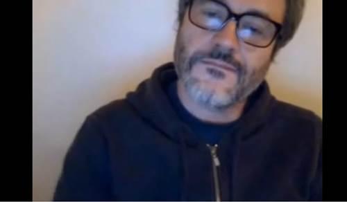 Famoso nu: Leonardo Medeiros batendo punheta