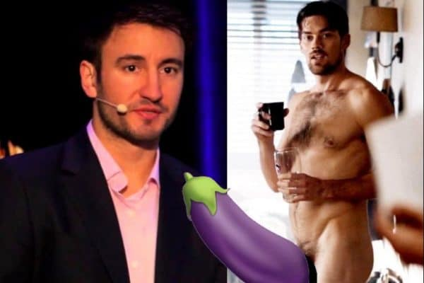 Ator Matt Lloyd pelado em famoso nu