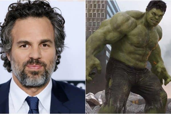 Mark Ruffalo pelado e gato em fotos - O Hulk