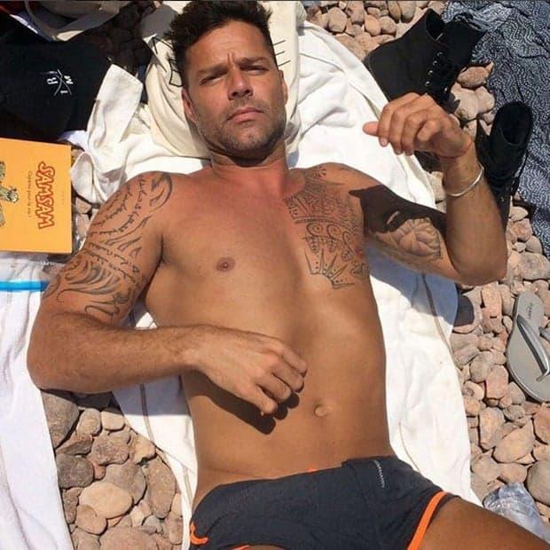 Ricky Martin pelado em supostas fotos