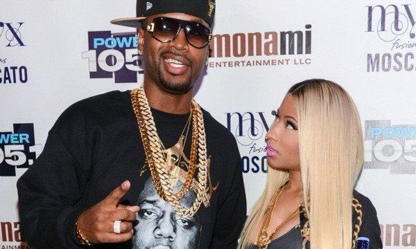 Rapper Safaree pelado, ex da Nicki Minaj