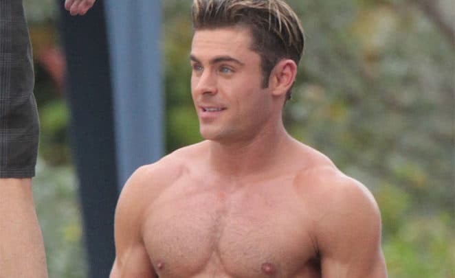 Vazam novas fotos do Zac Efron pelado