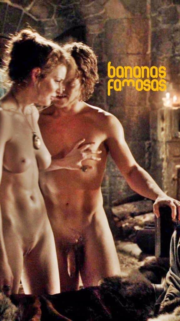 Naked alfie allen Rose Leslie