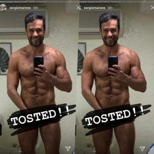 Sergio Marone pelado no instagram - Famosos