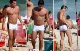 Mala enorme do famoso Thiago Martins