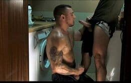 Chupando a rola gostoso do macho