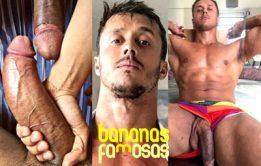 Diário dos famosos nus, com Diego Barros pelado