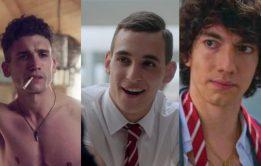 Fotos do galãs de Elite, série da Netflix