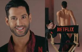 "Tom Ellis pelado ""Lúcifer"""