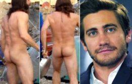 Ator gostoso Jake Gyllenhaal pelado