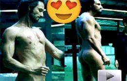 Ator Rodrigo Santoro pelado em série