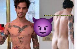 Tyler Posey Pelado em novo filme Alone - Nudes