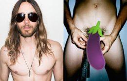 Cantor Jared Leto pelado em suposta nudes