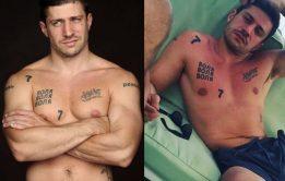 GIFs Nudes do galã argentino Juan Martino