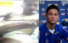 Vazam nudes de jogador do Palmeiras Diogo Barbosa pelado
