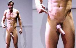 Joaquín Ferreira fez ensaio sexy e de pau duro