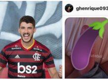 Vaza nudes do Gustavo Henrique pelado Jogador do Flamengo