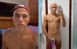 Pedro Pampelo pelado - Nudes de novinho carioca dotado