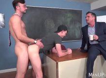 Professor comendo os alunos gostosos do cursinho