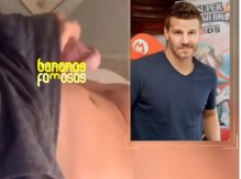 Vaza vídeo do ator David Boreanaz pelado